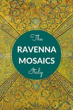 The beautiful mosaics of Ravenna in Italy