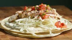 Recetas para prevenir el cancer de colon: Tacos de pescado a la parrilla, al estilo Baja California