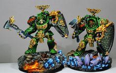 Salamander terminators