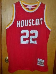 5dac9f17b Mitchell   Ness 1994-95 Houston Rockets Clyde Drexler Embroidered XXL Jersey  NBA