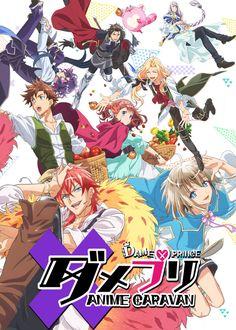 Dame x Prince Anime Caravan /// Genres: Adventure, Romance