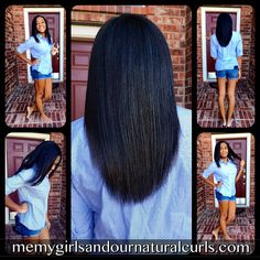The Best Way to Straighten Natural Hair!  This is the video that many have been waiting for!  Check it out now!