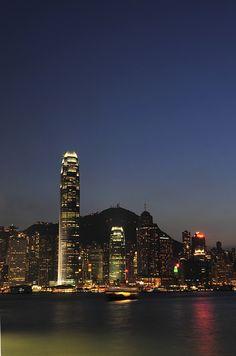 Magic Hour in Hongkong
