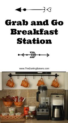Grab and Go Breakfast Station - The Darling Bakers