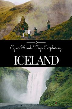Epic Road-Trip in Iceland Waterfalls