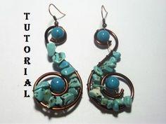 spirals, idea, craft, bead, earring pattern, jewelrymak, jewelri, earrings, spiral earring
