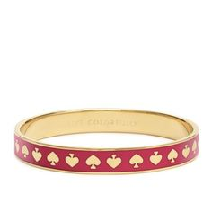 Kate Spade Bracelet. Showed this to my husband in a store today (in white) and reminded him mothers day is coming up. Hopefully he got the hint.