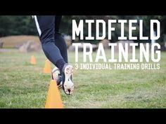 Individual Midfielder Training | 3 Drills To Become A Better Central Midfielder - YouTube