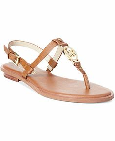 b8766fb98c57 MICHAEL Michael Kors Sondra Thong Sandals - Michael Kors Sandals - Shoes -  Macy s