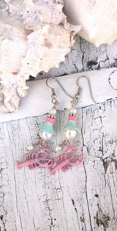 Angel Girls Daisies OOAK Rhinestone Crystal Ring Dish BELIEVE Sea Shell Art Clam Jewelry Holder