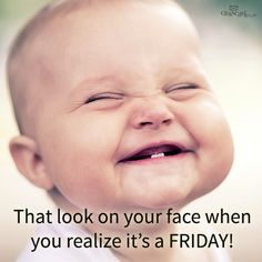 It's FRIDAY! #TGIF #Smile #CuteBabies