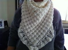 #crocher #handmade #shawl