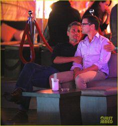 Matt Bomer Cuddles with Simon Halls at Cabo Birthday Celebration   matt bomer cuddles simon halls at birthday celebration in cabo 16 - Photo...
