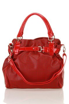 B-Collective by Buxton Checked Belted Duffle   !!!