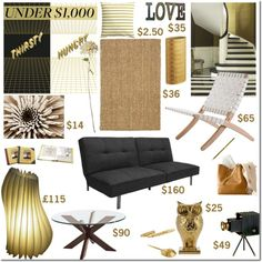 """""""Design for Under $1,000"""" by elena-starling on Polyvore"""