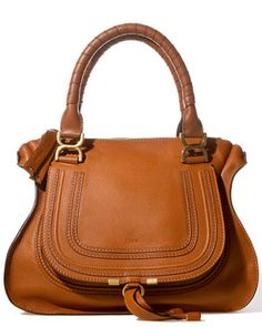 Aahh...this Chloe bag is stunning-beautiful shape, and the clincher is that rich color. Lust-worthy Fall accessory, for sure.  www.ruelala.com