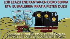 #ENEKANTAK #EUSKALERRIAIRRATIA #AUZOLAN #CROWDFUNDING - Ene Kantak quiere editar un CD-DVD en favor de Euskalerria Irratia, con 20 canciones infantiles y otros tantos videoclips. euskera euskadi kukuxumusu música +INFO http://www.enekantak.com   crowdfunding verkami  http://www.verkami.com/projects/9008-1-000-erosle-baietz-eman-bidea-euskalerria-irratiari