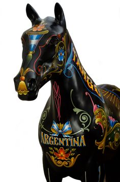 Tango Horse - Arte Fileteado Porteño