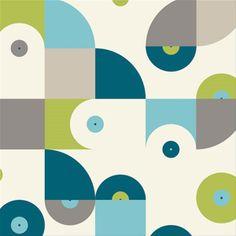 Tela infantil Vinyl Grass