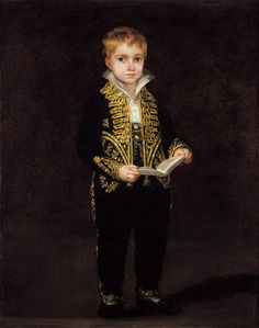 Portret van Victor Guye - Goya
