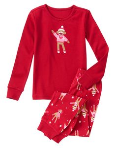 fallon - size 5 - Girl Sock Monkey Two-Piece Gymmies® at Gymboree