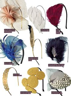 Gatsby Fascinators - head accessories