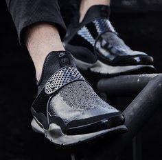 Nike lab x Stone Island Sock Dart Black