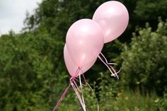 "25 Pearl Pink 11"" Latex Balloons"