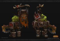 ArtStation - World of Warcraft Fan Art - Grommash Hellscream, Daniel Orive
