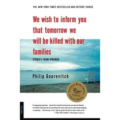 In April of 1994, the government of Rwanda called on everyone in the Hutu majority to kill everyone in the Tutsi minority. Over the next three months, 800,000 Tutsis were murdered in the most unambiguous case of genocide since Hitlers war against the Jews. Philip Gourevitchs haunting work is an anatomy of the killings in Rwanda, a vivid history of the genocides background, and an unforgettable account of what it means to survive in its aftermath.