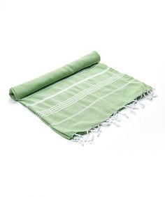 Green Monaco Turkish Towel