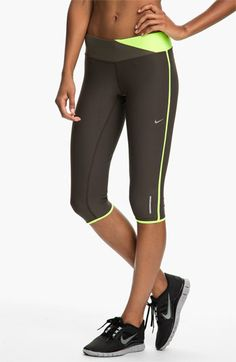 Nike 'Twisted' Running Capris available at #Nordstrom
