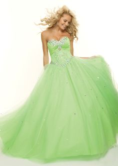 Paparazzi by Mori Lee 93088 strapless green prom dresses #RissyRoosProm