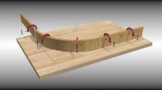 build a mold to bend wood - Google Search