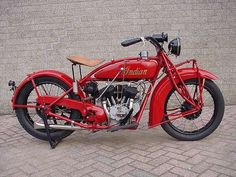 1928 Indian Scout by Willemsknol
