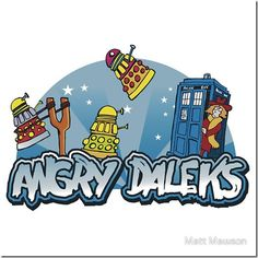 Angry Daleks, coming to iPhone soon!