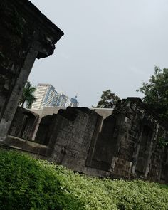 Ianna lopez: Fort Santiago is part of the structures of the walled city of Manila Intramuros. Fort Santiago, Intramuros, Walled City, Manila, Louvre, Building, Travel, Viajes, Buildings
