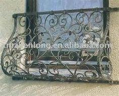 wrought iron window grille!!!