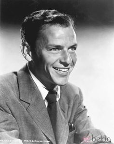 """Frank Sinatra - American singer and film actor; hit songs """"Strangers in the night"""" """"My way"""""""