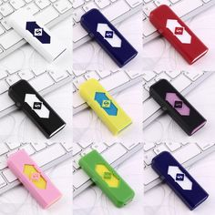 Portable Electronic Flameless USB Rechargeable Lighter