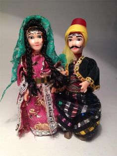 Turkish souvenir dolls