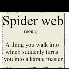 Yup...that's exactly what I am a karate master.