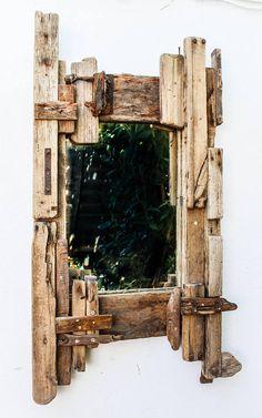 Driftwood Mirror, 110 x 61 (cm)