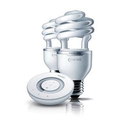 Living Whites ESaver - Energy Saver Specialties - Compact Fluorescent Integrated - Lamps - Philips - No more discussions about how has to get up to turn off the bedroom lamp :-)