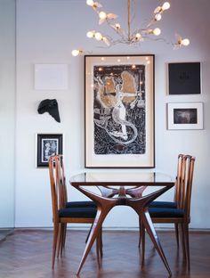 elegant mid century modern dining. Repinned by Secret Design Studio, Melbourne. www.secretdesignstudio.com
