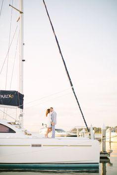 sailboat engagement session / jlaynephotography.com