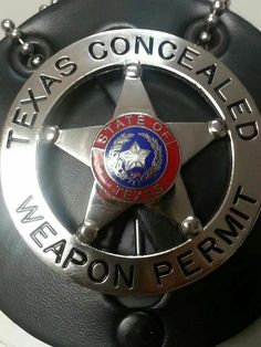 Texas Concealed Weapon Permit...Don't mess with Texas and don't mess around in Texas