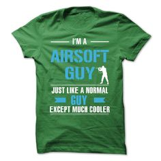 Airsoft guy is cooler