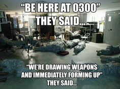 We all know this feeling. Warfighters will tell you.