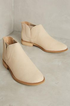 I really like these booties but don't really like the color.  Would prefer a darker brown leather.